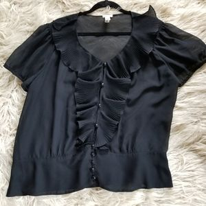 Old Navy Victorian style blouse